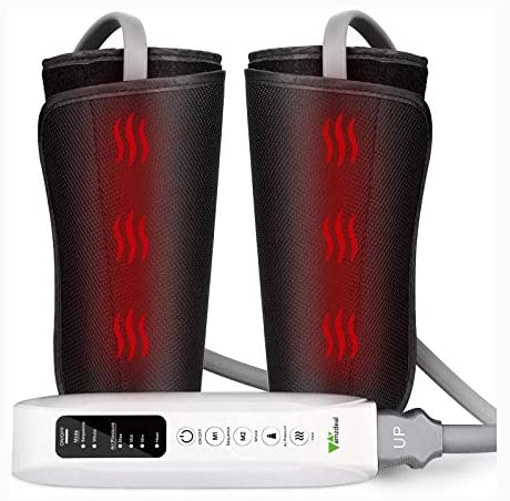 Amzdeal Leg Massager for Circulation Calf Massager with Heating Function, Suitable for Legs, Arms, Feet, Home & Office Use