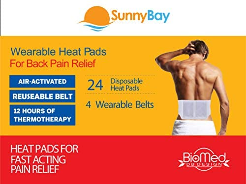 Disposable Heat Patches for Back Pain Relief - Joint Shoulder Neck Pain Menstrual Heating Pad Cramp Heat Patches Disposable Air-Activated Portable Personal Non Electric Deep Muscle Hot Pack