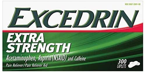 Excedrin Extra Strength Caplets (300 ct.)