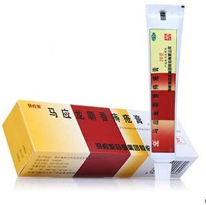 JQ 2 Boxes * 20g 马应龙 Ma Ying Long Musk Hemorrhoids Ointment Cream Chinese Traditional Herbal Formula