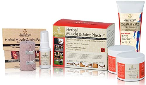 Jadience Severe Pain Relief Kit: Penetrates Deep for Muscle Pull Recovery, Joint Support & Sciatic Nerve| Dit Da Jow Topical Analgesic for Back, Neck, Shoulders, Hips, Knees, Ankles, Elbows & Wrists