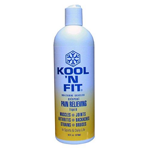 Kool 'N Fit Pain Relieving Spray Formula 16 oz. Refill Bottle
