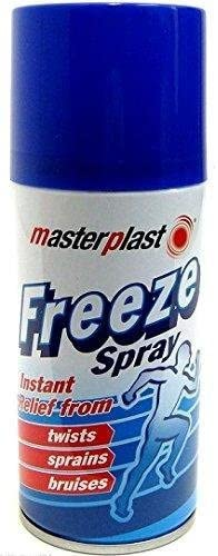 Masterplast Freeze Spray for Muscle Sprains & Sports Injury Instant Relief 150ml (1) by Bargains Hut