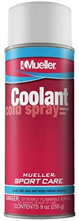 Mueller Coolant Cold Spray, 9oz Aerosol