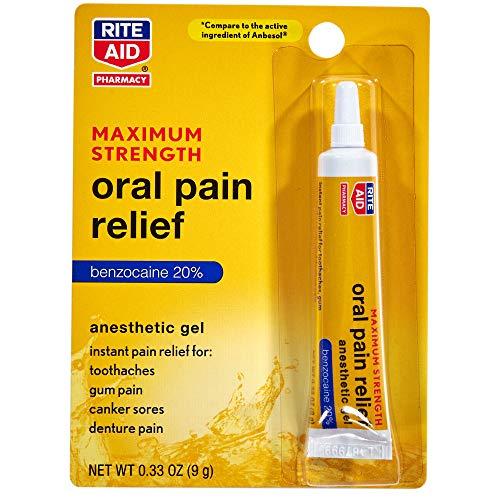 Rite Aid Maximum Strength Oral Pain Relief - 0.33 oz