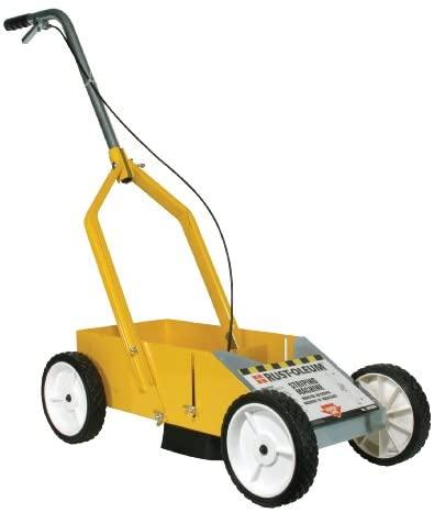 "Rust-Oleum 2395000 High-Performance Striping Line Marking Machine, 9"" x 27.5"", Yellow"