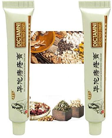 DICTAMNI - Antibacterial Cream - Chinese Herbal Hemorrhoids Cream (2PC)